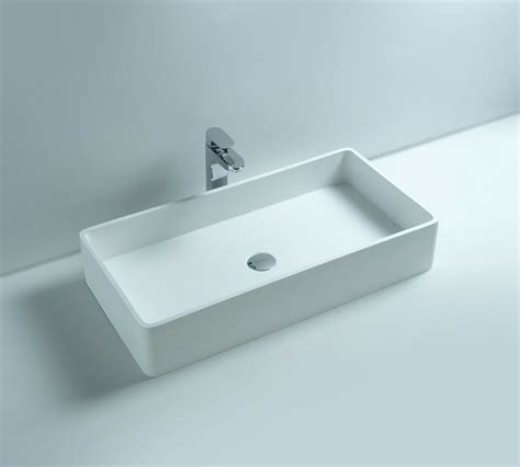 corian bathroom sinks countertop solid surface resin glossy bathroom sink