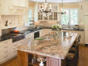 countertop for kitchen island choosing kitchen countertops hgtv