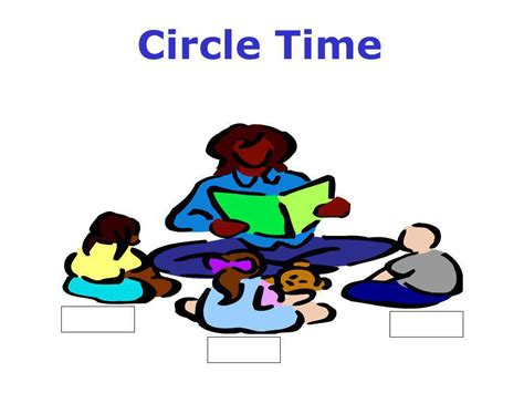 Circle Time Clipart Circle Time Ppt