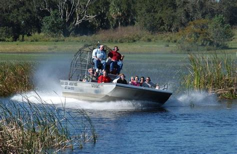 Boat Rides In Orlando by Boggy Creek Airboat Rides Explore Orlando