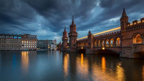fotos von berlin deutschland oberbaum bridge spree