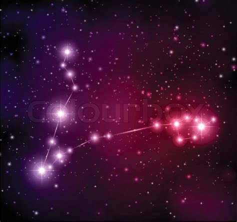 abstract space background  stars stock vector