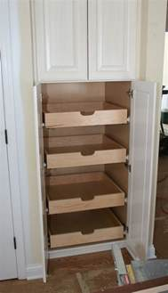 kitchen cabinet shelving ideas how to build pull out pantry shelves diy projects for everyone