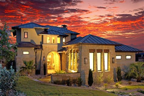 texas style luxury home   bedrooms  sq ft house plan   tpc