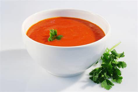 tablette recette de cuisine recette de la soupe à la tomate pratique fr