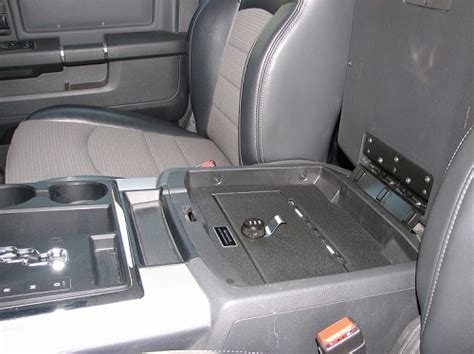 dodge ram   full floor console