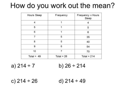 what does open table mean diagnostic question thumbnail primary mathematics math