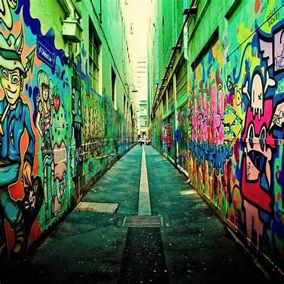 Street Melbourne Graffiti Australia Urban Cool Streets