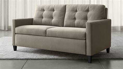Karnes Grey Queen Sleeper Sofa Crate And Barrel