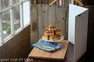 Butterfinger Rice Crispy Treats - Your Cup of Cake
