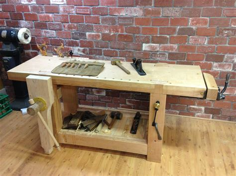 custom  french roubo workbench   style