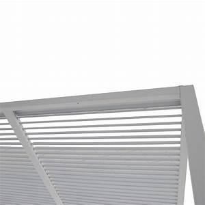 Pavillon Mit Lamellendach : sunfun pavillon palma 3 x 4 x 2 4 m wei bauhaus ~ Orissabook.com Haus und Dekorationen
