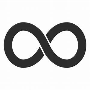 Simple infinity logo infinite - Transparent PNG & SVG vector