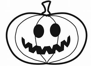 Citrouille D Halloween Dessin : coloriage imprimer petite citrouille d 39 halloween ~ Nature-et-papiers.com Idées de Décoration