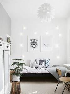 Deco Murale Blanche : deco tableau scandinave id e inspirante pour la conception de la maison ~ Teatrodelosmanantiales.com Idées de Décoration
