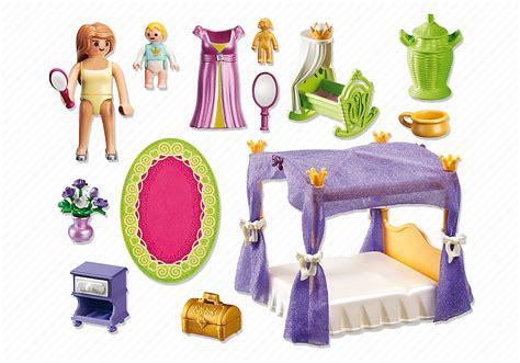 chambre princesse playmobil playmobil princess chambre de la reine avec lit à