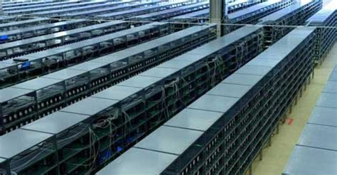massive bitcoin mines spring   warehouses data center knowledge