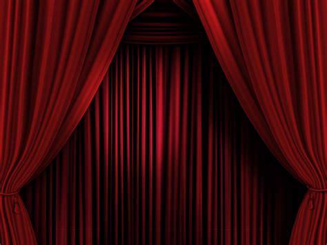 Rideaux Rouges Scène De Théâtre  Rideau Scène Spectacle