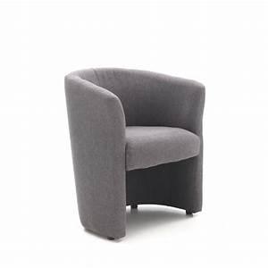 Fauteuil Cabriolet Gris : baya fauteuil cabriolet gris achat vente fauteuil ~ Teatrodelosmanantiales.com Idées de Décoration