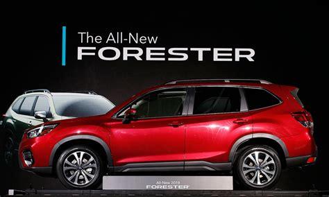 2019 Subaru Forester Gets Bigger In New York Debut