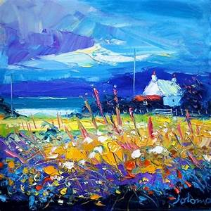 John Lowrie Morrison - Eveninglight over Isle of Gigha ...