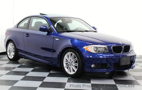 2013 Used Bmw 1 Series Certified 128i M Sport Coupe Xenons