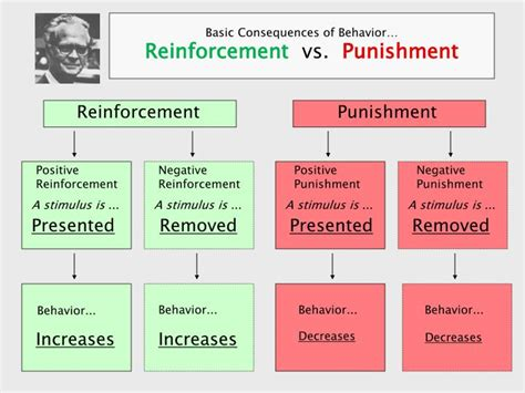 Reinforcement Of Behaviour Modification Theory by Ppt Basic Consequences Of Behavior Reinforcement Vs