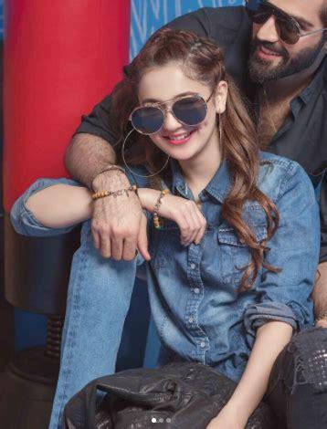 hania amir husnain lehri shoot  pepe jeans pakistan