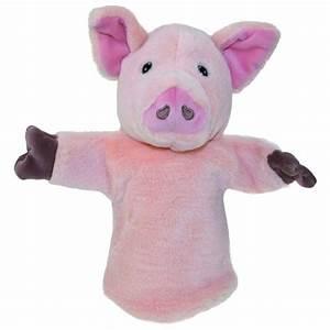 Marionnette à Main : marionnette cochon rose pour main enfant 25cm ~ Teatrodelosmanantiales.com Idées de Décoration