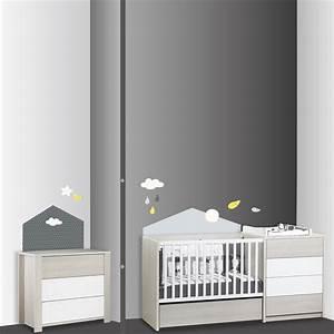 Sticker Chambre Bebe : stickers chambre b b home babyfan de sauthon baby deco sur allob b ~ Melissatoandfro.com Idées de Décoration