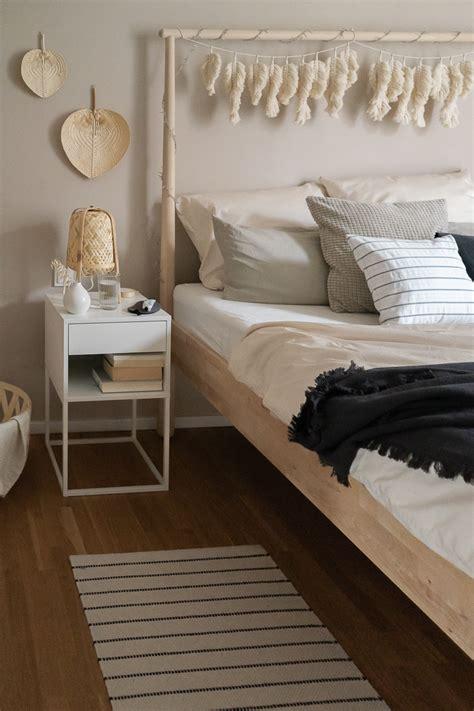 schlafzimmer einrichtungsideen ordnung stauraum