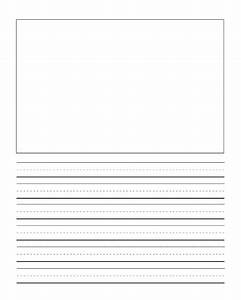 Primary Writing Lines Journal Writing Paper Handwriting Template Freebies
