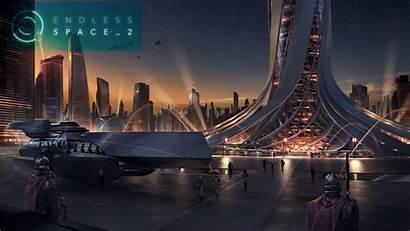 Space 2k Wallpapers Endless 4k Fantasy Futuristic
