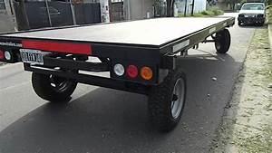 Acoplado 6 y 8 toneladas con plato giratorio trailer www