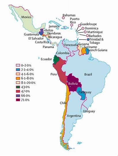 Indigenous America Latin Population Country Percentage Caribbean