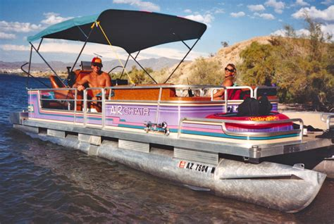 Hydrofoil Pontoon Boat by A Water Skier S Adventures In Water Skiing