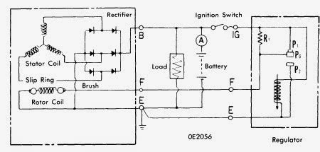 nippondenso alternator wiring diagram one wire wiring diagram