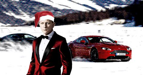 why do we watch james bond movies at christmas