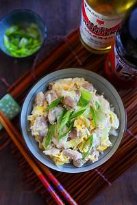 Oyakodon (Japanese Chicken And Egg Rice) Recipe — Dishmaps