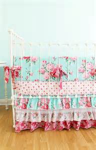 shabby chic crib bedding pictures