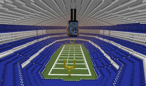 cowboys stadium minecraft project