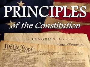 Tom Richey Principles Of The Constitution Powerpoint With Guided Notes