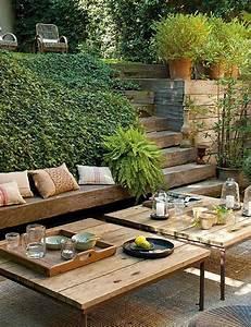 amenagement jardin en pente idees pour vous faciliter la With jardin en terrasse en pente