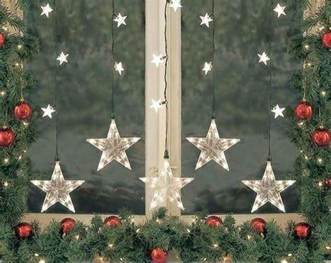 ideas  christmas window decorations