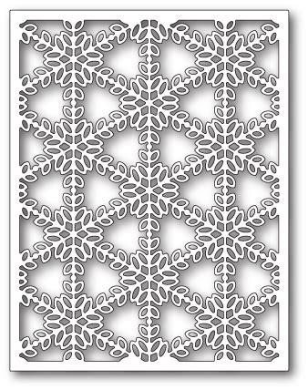 Snowflake Background Die by Pickering Snowflake Background