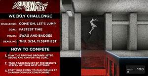 Introducing the Shadow Complex Weekly Challenge