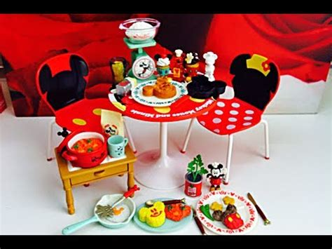Mickey Mouse Kitchen Essentials Collection by Re Ment Collection Disney Mickey Mouse Retro Kitchen