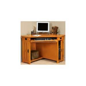 craftsman corner computer desk w compartment home