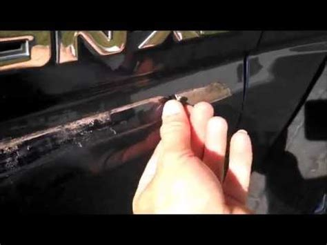removing door molding  yukonsuburbantahoe youtube