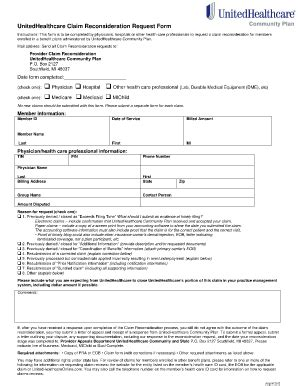 united healthcare insurance claim form united healthcare claim form fill online printable